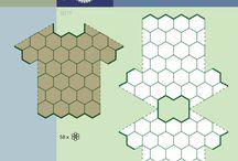 Crochet Diagrams / Схемы соединения мотивов и сборка изделий