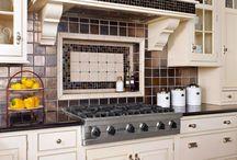 Kitchen-Backsplash / by Dawn Cattermole
