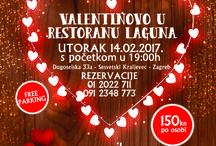 Valentinovo u restoranu Laguna 2017.