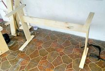 DIY Digital Piano Stand with Multi function Piano Bench From Reclaimed Pallet Wood
