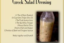 RECIPES: -- SAUCES, SPREADS, BUTTERS, SEASONINGS / by Jane Tindall