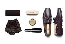 Gentleman's Driver CarShoe / Betis calf leather classic driving moccasin, handmade in Italy, an exclusive kit comes with cleaning accessories and driving gloves.