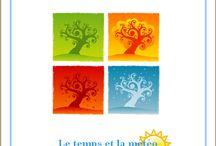 Le temps et la météo / Lapbook sur la météo de l'Association Carpe Diem