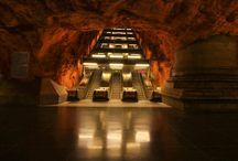 Metro Stations Stockholm