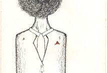 My Artwork / illustration,hand drawn,ink,markers,pencils,fine lines,details