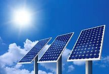 #Solar #photovoltaic (PV)  / One hour of #SUN #RAYS that reaches the earth is enough energy to meet all the energy needs for the whole world for one year ! The Sun produces for every 9 sqft 1000 kWh of energy in Texas. In 1839, Edmond Becquerel discovered the process of using sunlight to produce an electric current in a solid material. The photoelectric effect is the basic physical process by which a PV cell converts sunlight into electricity. www.realsmartbuyer.com