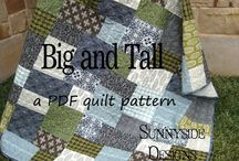 Sunnyside Designs Quilt Patterns / Simple, quick, easy and fun quilt patterns for beginner to advanced quilters! / by Sunnyside Designs