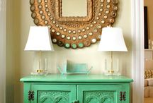 foyer decor / by Tara Lombardi