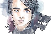 Game of Thrones / My illustration of characters from Game of Thrones.