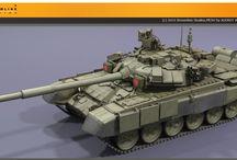 Krigen - tanks / Stridsvogner og tanks