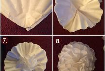 Coffee Filter Creations