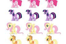 Pony para cumple Juli