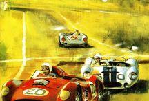 Grand Prix Posters, Art and Literature