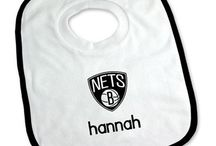Brooklyn Nets Baby Gifts / Personalized Baby Gifts For Fans Of The Brooklyn Nets NBA Basketball Team.