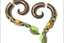 Fake gauge, extender, plugs, piercing / Fake gauge, clay gauge, fake extender, fake plugs, fake piercing jewelry, tribal earrings, steampunk earrings, tribal earrings gauge, tentacles gauge  Etsy: https://www.etsy.com/shop/SweetlyART Like: https://www.facebook.com/Sweetly.Art Pin: http://pinterest.com/sweetlyart/ Follow: http://twitter.com/sweetlyart/  / by Sweetly Art