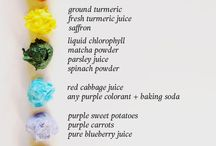 Natural Food Colouring Recipees
