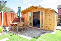 Garden Rooms / A collection of beautiful garden rooms to inspire you! Garden rooms are so versatile you can swap and change their use to suit your needs. We hope this board gives you ideas and inspiration for your own home.