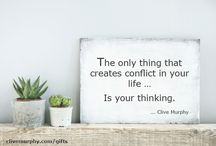 Words of Wisdom / Transforming the way you think
