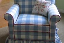 Butacas, sofás, sillas / Todo lo que puedo hacer con alguna tela e imaginación