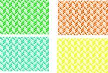 Custom Printed HTV Patterns
