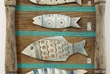 balıklar ve dekorasyon