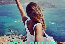 Follow us)