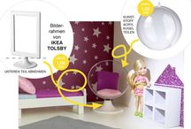 Barbie Haus DIY / Vorhaben
