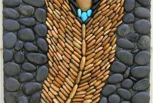 Dinding batu & pernak pernik batu