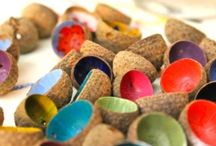 Jewelry with natural materials