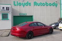 2013 Jaguar XF-R / We gave an a brand new 2013 (un-registered) Jaguar XF-R a new mean look with a High Gloss Rim and Alloys