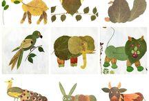 taller animals amb fulles