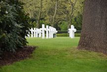 US warcemetery Margraten the Netherlands / The faces of Margraten; always remember the men who gave us our freedom.