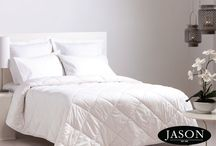 """Jason Quilts / """"No one's tougher than Jason"""" Jason has a range of quilts and bedding, and is a well known Australian brand in bedding and has been trusted by families for over 65 years. Visit www.jason.com.au."""