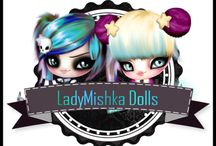 LadyMishka Dolls and Tubes