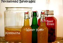 Fermented drinks and foods