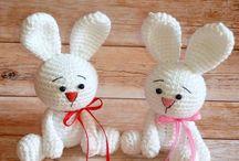 beyaz tavşanlar