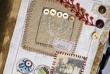 Bookcover- Art quilt