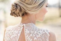 Bridal Hair / Bridal hair ideas for romantic brides