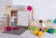 Dětský nábytek a doplňky / Všechny naše zkušenosti a nápady jsme vložili do přípravy vlastní řady nábytku a doplňků, které představujeme na novém eshopu.