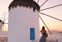 Santorini Fairy Windmill