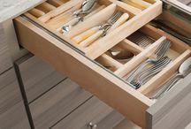 beech wood drawer insert