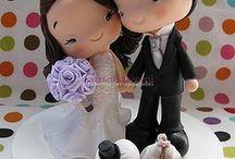 fimo wedding