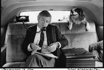 WRITERS AND THEIR DOGS / Authors and their four-footed best friends