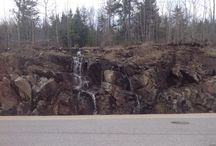 Northern Ontario - photos taken by me. / Photos of Northern Ontario, showing the beauty and ruggedness of the land.