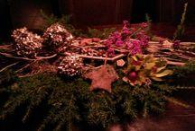 bloemstukken / bloemstukken gemaakt door de jaren heen.