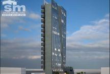 Torre Corporativa Zion Guadalajara / Torre Corporativa Zion estará ubicada a sólo 2 cuadras de la Minerva. Contará con amplios y exclusivos espacios de oficina!