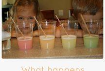 activités enfants - expériences scientifique
