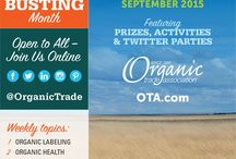OTA's #OrganicFestival / Join us during the month of September as we debunk #organic myths and share organic facts!