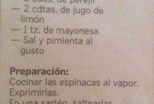 mayonesa de espinaca
