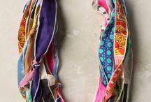 Fabrics scraps